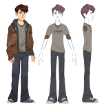 Dan Model Sheet by Caleb Kicklighter