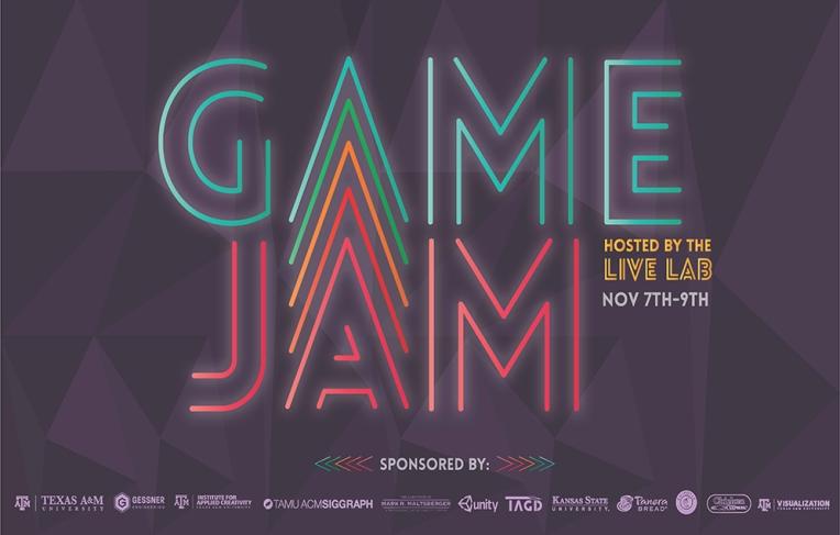 LIVE Lab Game Jam Poster