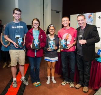3rd Place Overall: Team Netflix and Chillennium and their game, Trouble in Dinoland